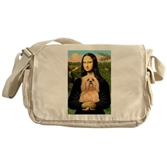Mona / Lhasa Apso #9 Messenger Bag