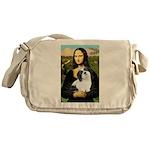 Mona / Lhasa Apso #2 Messenger Bag