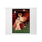 Angel / Lhasa Apso #4 Throw Blanket