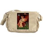 Angel / Lhasa Apso #4 Messenger Bag
