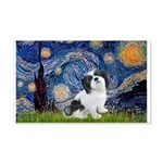 Starry / Lhasa Apso #2 20x12 Wall Decal