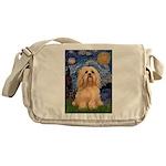 Starry / Lhasa Apso #9 Messenger Bag