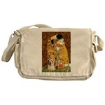 Kiss / Lhasa Apso #4 Messenger Bag