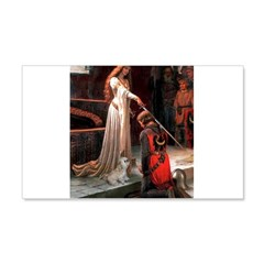 The Accolade & Lhasa Apso Wall Decal