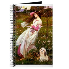 Windflowers / Lhasa Apso #4 Journal