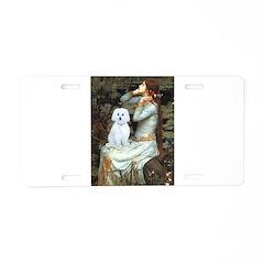 Ophelia #1 / Maltese (B) Aluminum License Plate