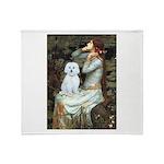 Ophelia #1 / Maltese (B) Throw Blanket