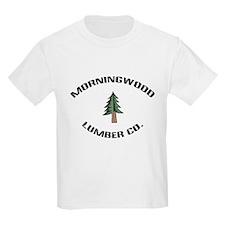 Morningwood Lumber Co. Kids T-Shirt