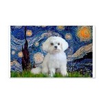 Starry Night / Maltese 20x12 Wall Decal