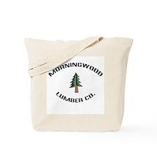 Morningwood Lumber Co. Tote Bag