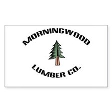 Morningwood Lumber Co. Rectangle Decal