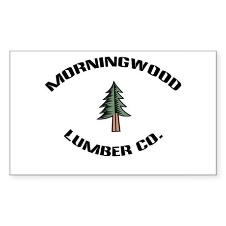 Morningwood Lumber Co. Rectangle Sticker