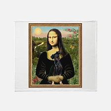 Mona / Min Pinscher Throw Blanket