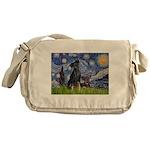 Starry / Min Pin pr Messenger Bag