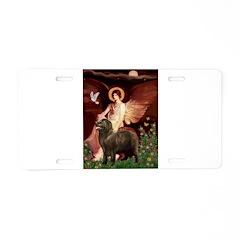 Angel & Newfoundland (B2S) Aluminum License Plate