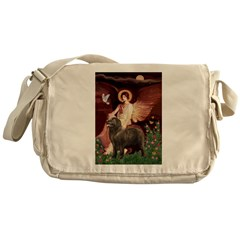 Angel & Newfoundland (B2S) Messenger Bag
