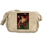 Angel & Newfoundland Messenger Bag