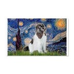 Starry Night / Landseer 20x12 Wall Decal