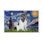 Starry Night / Landseer 20x12 Wall Decal