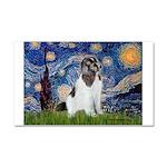 Starry Night / Landseer Car Magnet 20 x 12