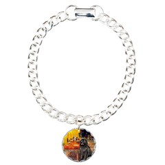 Cafe & Newfoundland Bracelet