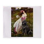 Windflowers / Newfoundland Throw Blanket