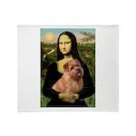 Mona / Norfolk Terrier Throw Blanket