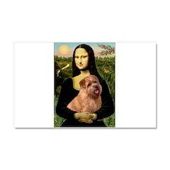 Mona / Norfolk Terrier Car Magnet 20 x 12