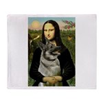 Mona / Nor Elkhound Throw Blanket