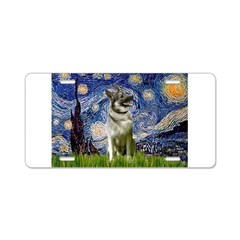 Starry / Nor Elkhound Aluminum License Plate