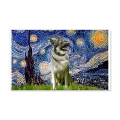 Starry / Nor Elkhound Wall Decal