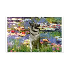 Lilies / Nor Elkhound Wall Decal