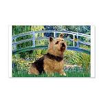 Bridge / Norwich Terrier 20x12 Wall Decal