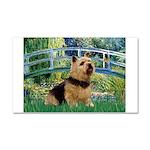 Bridge / Norwich Terrier Car Magnet 20 x 12