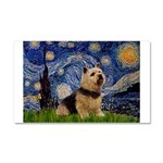 Starry /Norwich Terrier Car Magnet 20 x 12