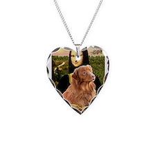 Mona's Nova Necklace Heart Charm