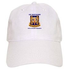 DUI - 1st Bn - 501st Avn Regt with Text Baseball Cap