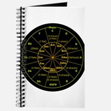 Funny Bass clef Journal