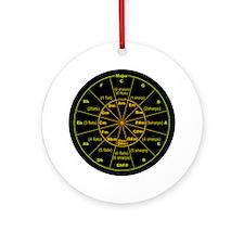 Unique Circle fifths Ornament (Round)