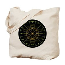 Cute Circle of fifths Tote Bag