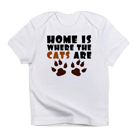 'Where The Cats Are' Infant T-Shirt