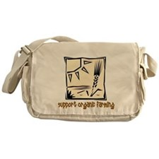 Support Organic Farming Messenger Bag