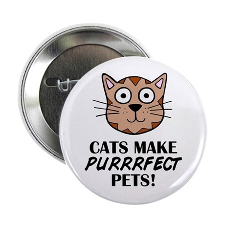 """'Purrrfect Pets' 2.25"""" Button"""