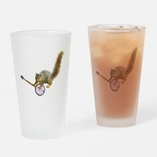 Squirrel with Banjo Pint Glass