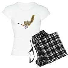 Squirrel with Banjo Pajamas