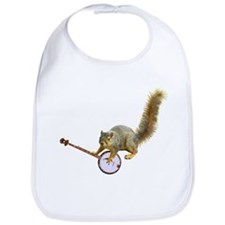 Squirrel with Banjo Bib