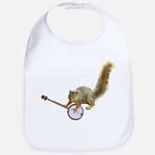 Squirrel with Banjo Bib