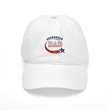 Vintage Superstar Dad Baseball Cap