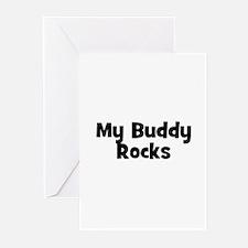 My Buddy Rocks Greeting Cards (Pk of 10)