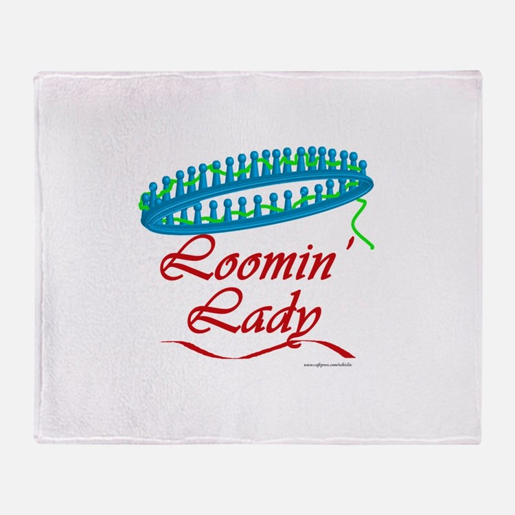 Loomin' Lady Throw Blanket